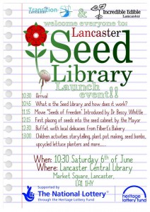 seed library launch