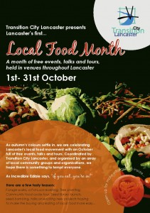 Lancaster's first local food month