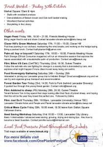 One Planet Festival Programme