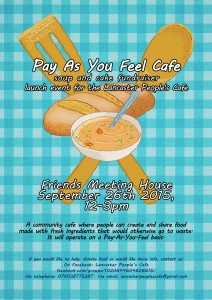 People's café launches in Lancaster