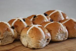 hot cross bun