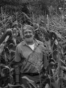How did Alan become an organic farmer?