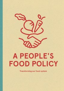 A People's Food Policy launched