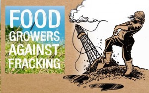Food growers against fracking