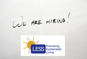 LESS is recruiting!